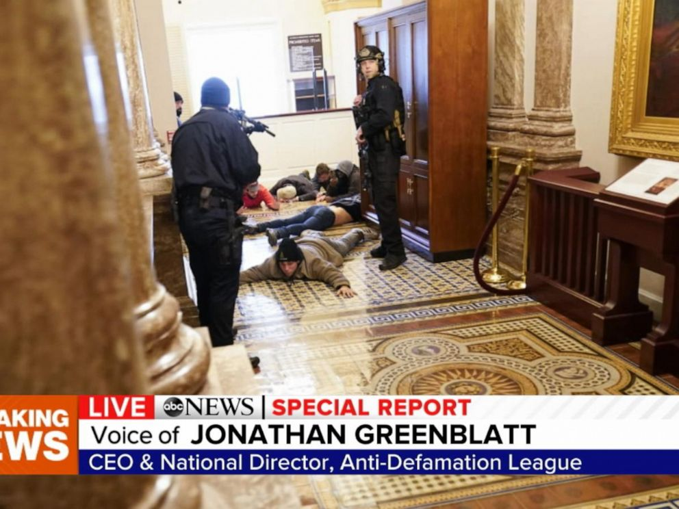 Capitol has seen violence over 220 years, but not like this - ABC News