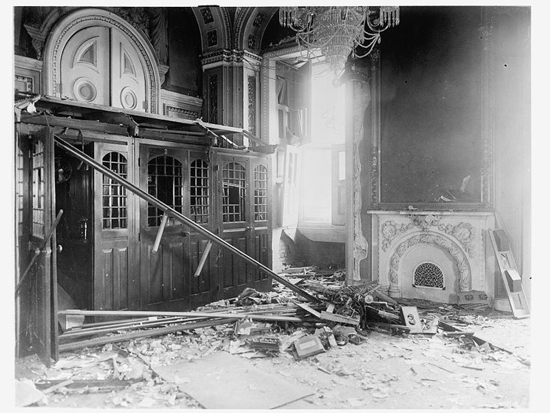 In 1915 a Former Harvard Professor Tried to Blow Up the U.S. Capitol |  Smart News | Smithsonian Magazine