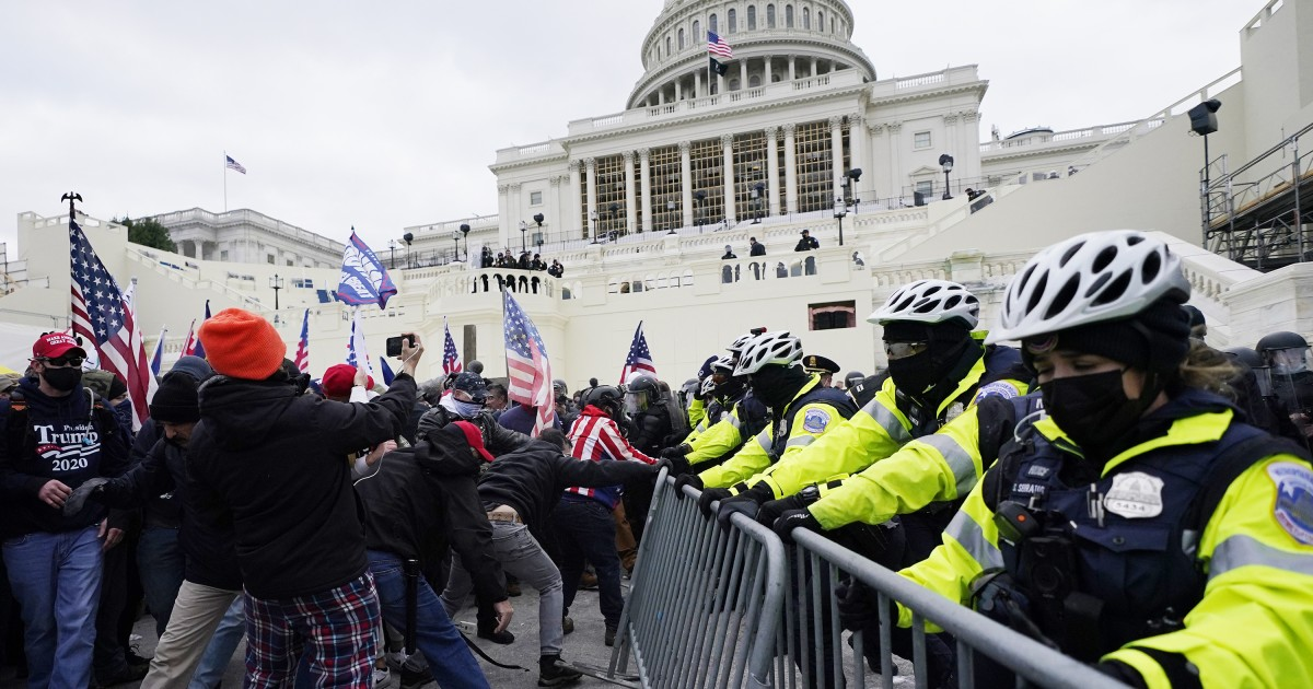 Trump Supporters Clash With Capitol Police At Protest, Senate And House  Recess | WLRN