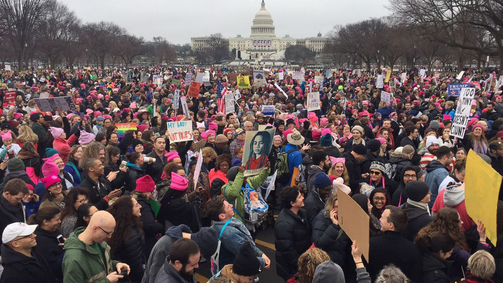 More Than 1 Million Rally at Women's Marches in US and Around World - ABC  News