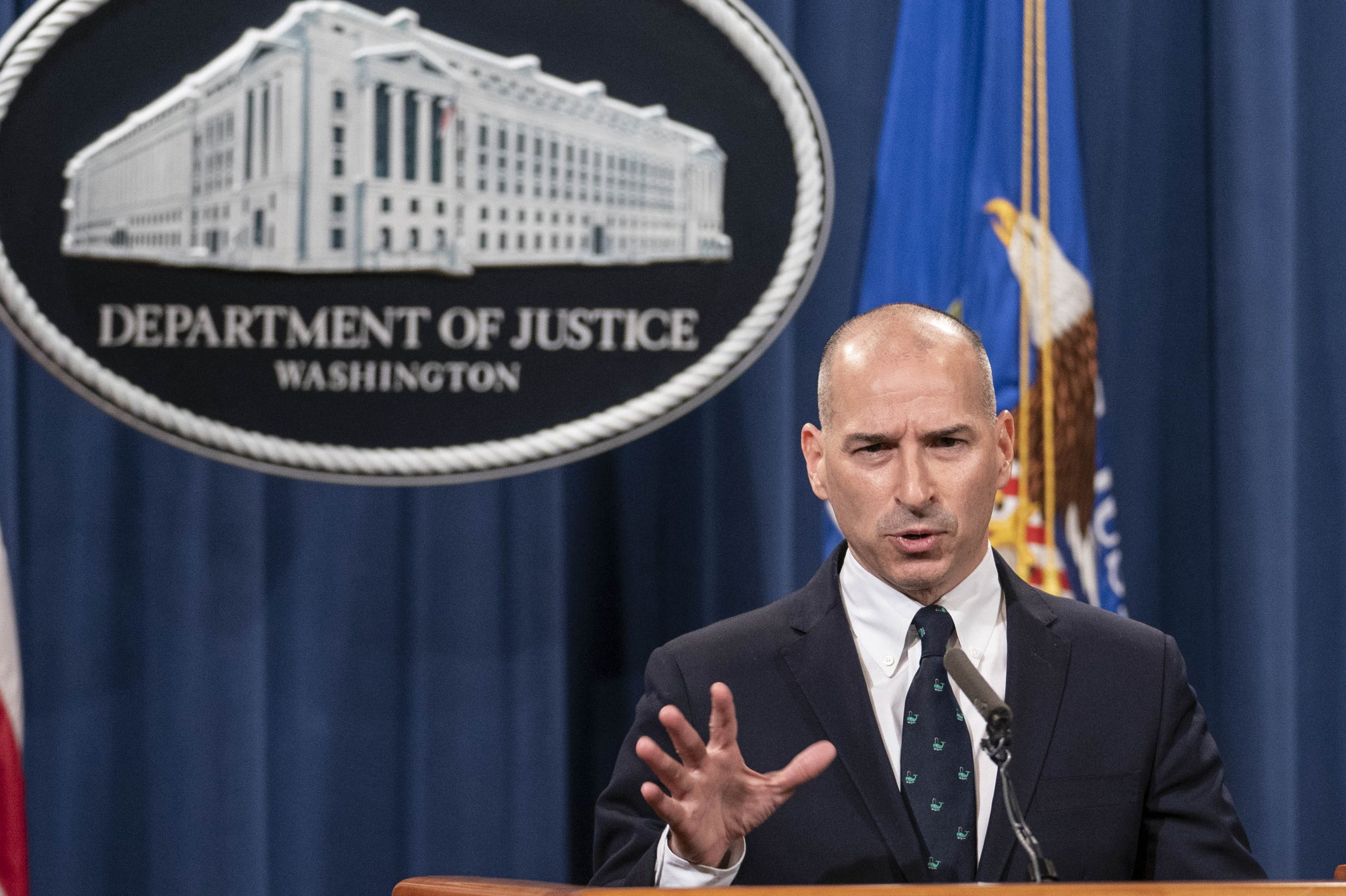 Justice Department warns it's coming for those involved in Capitol violence  - OPB