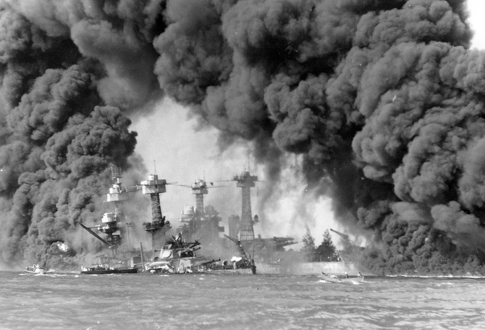 Watch historical footage of Pearl Harbor hours after the devastating  Japanese attack on December 7, 1941