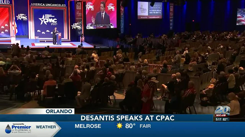 Gov. DeSantis kicks off CPAC: 'Florida's leading on the issues that matter  to conservatives'