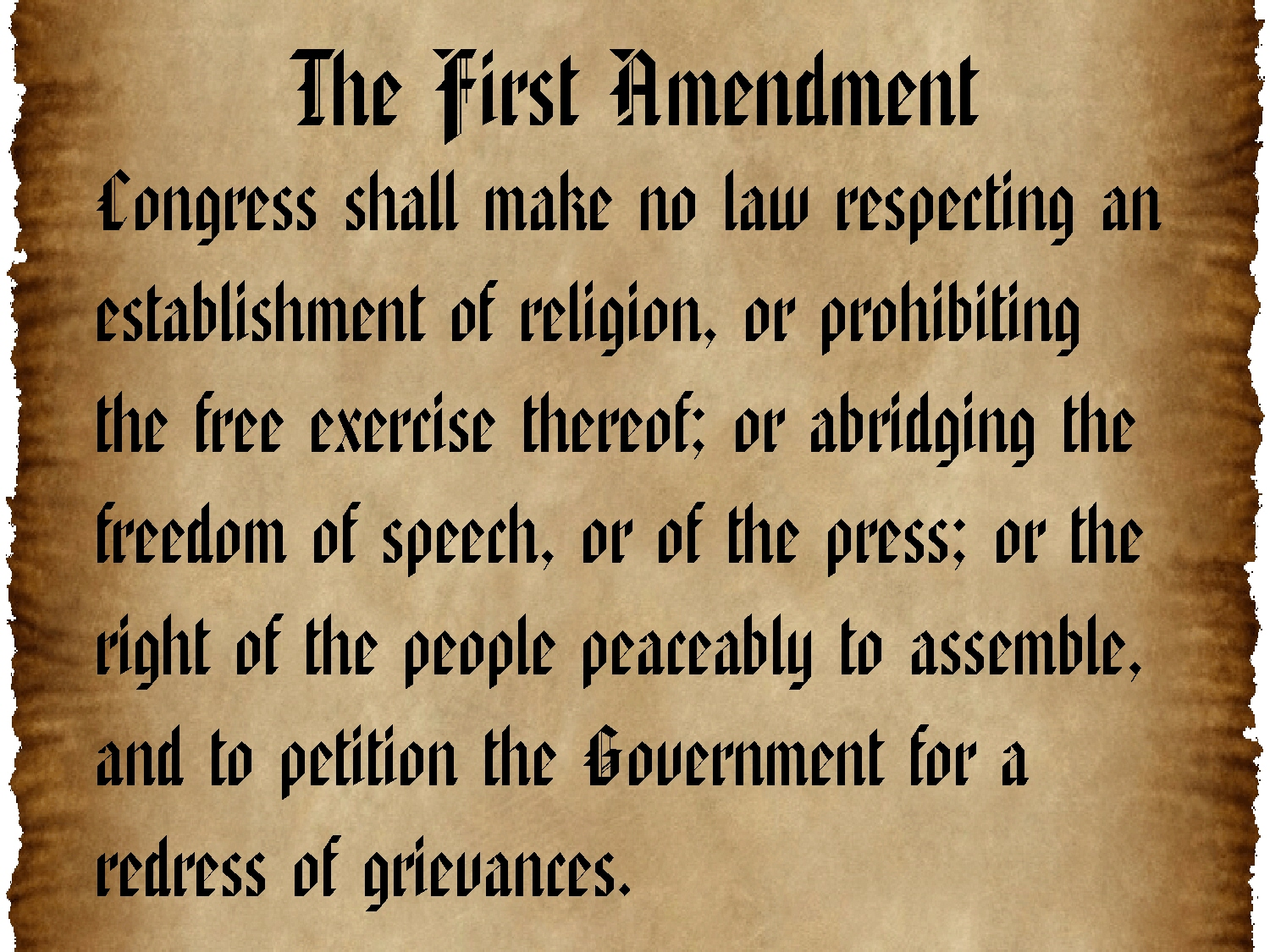 Image result for 10 amendments bill of rights