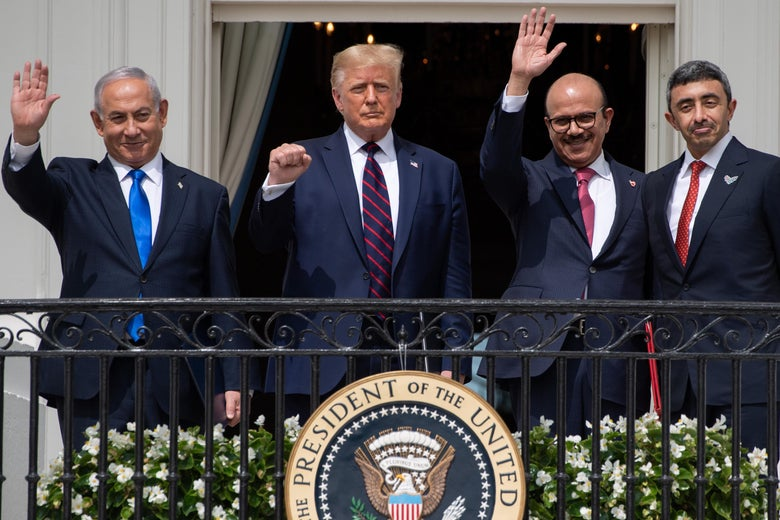 """What the """"Abraham Accord"""" between Israel and two Arab monarchies really  means."""