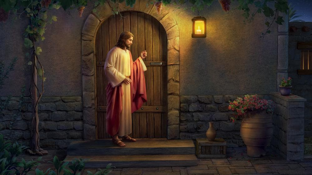 """The True Meaning of """"Jesus Knocking on the Door"""" 