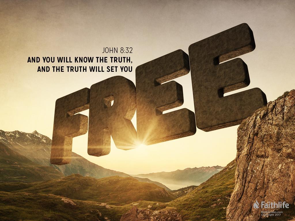 Verse of the Day - John 8:32 KJV - Highland Park Baptist Church - Lenoir  City, Tennessee