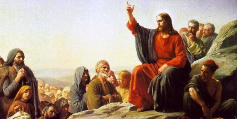 The Sermon on the Mount Painting | Carl Heinrich Bloch Oil Paintings