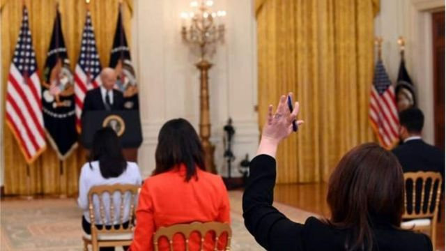 Biden speech today: Joe Biden first press conference reveal US immigration,  Gun Control, North Korea plans - BBC News Pidgin