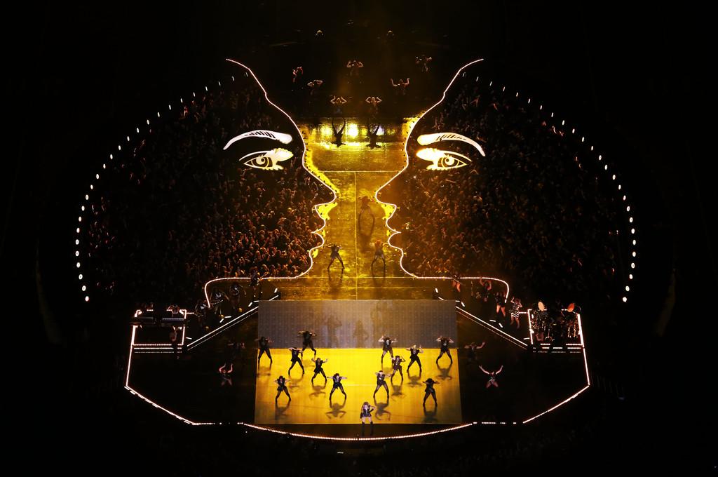 Satanic Baphomet ritual at Super Bowl follows Illuminati snuff film,  Beyonce possessed by SATAN! by PIRATENEWS