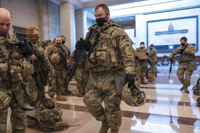 Baker sending 500 National Guard members to Washington for inauguration