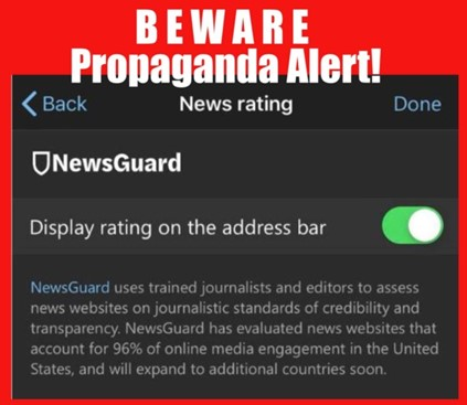 The Ron Paul Institute for Peace and Prosperity : NewsGuard: A  Neoconservative Contrivance Which Promotes an Establishment View