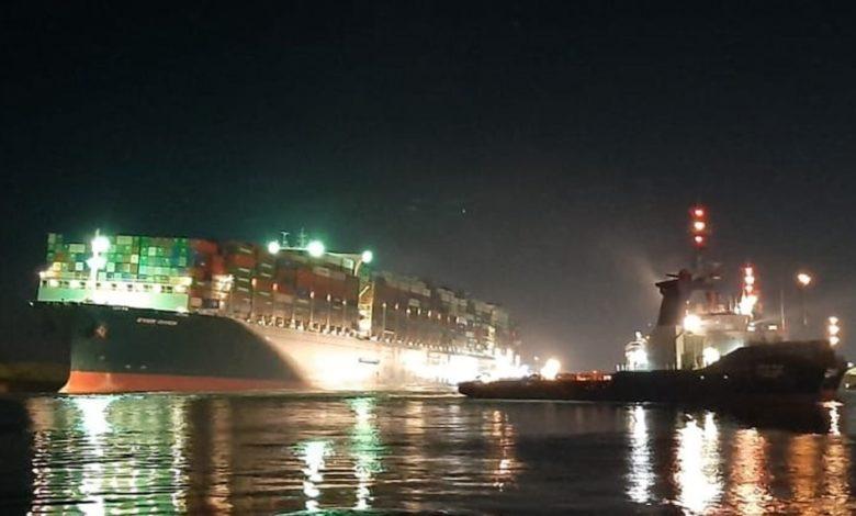 Huge Suez operation frees the Ever Given - Splash247