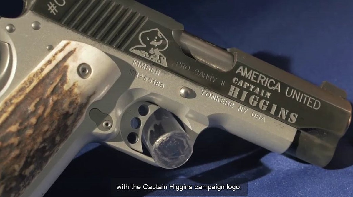 You Can Support Higgins' Campaign By Buying A 'Captain Clay Higgins Limited  Edition' Handgun [Video]
