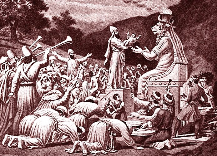 Did The Canaanites Really Sacrifice Their Children? | Bible Reading  Archeology