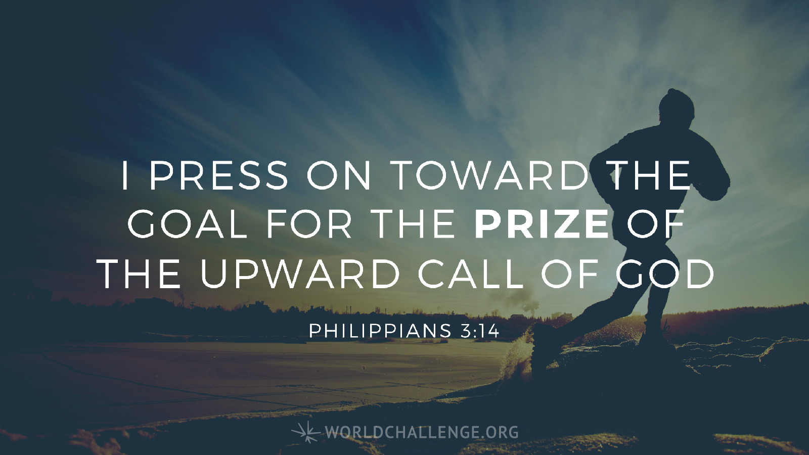 Pressing Toward the Goal – Devoted To You