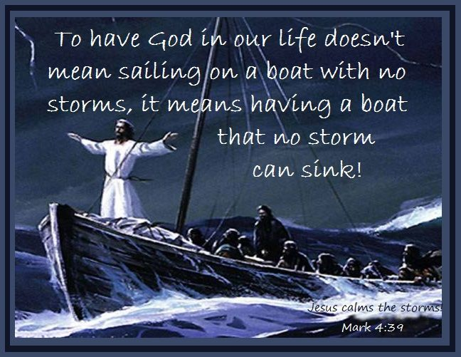 Catholic Loves & Laughs | Jesus calms the storm, Calming the storm, Gospel  of mark