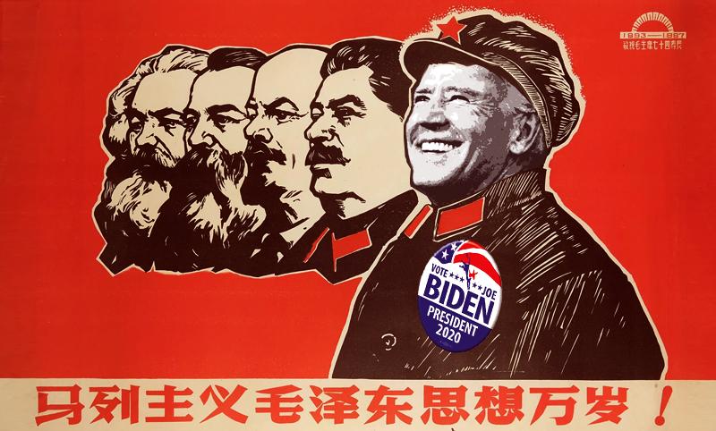 Democrats going full-on Mao for China Comrade Joe Biden
