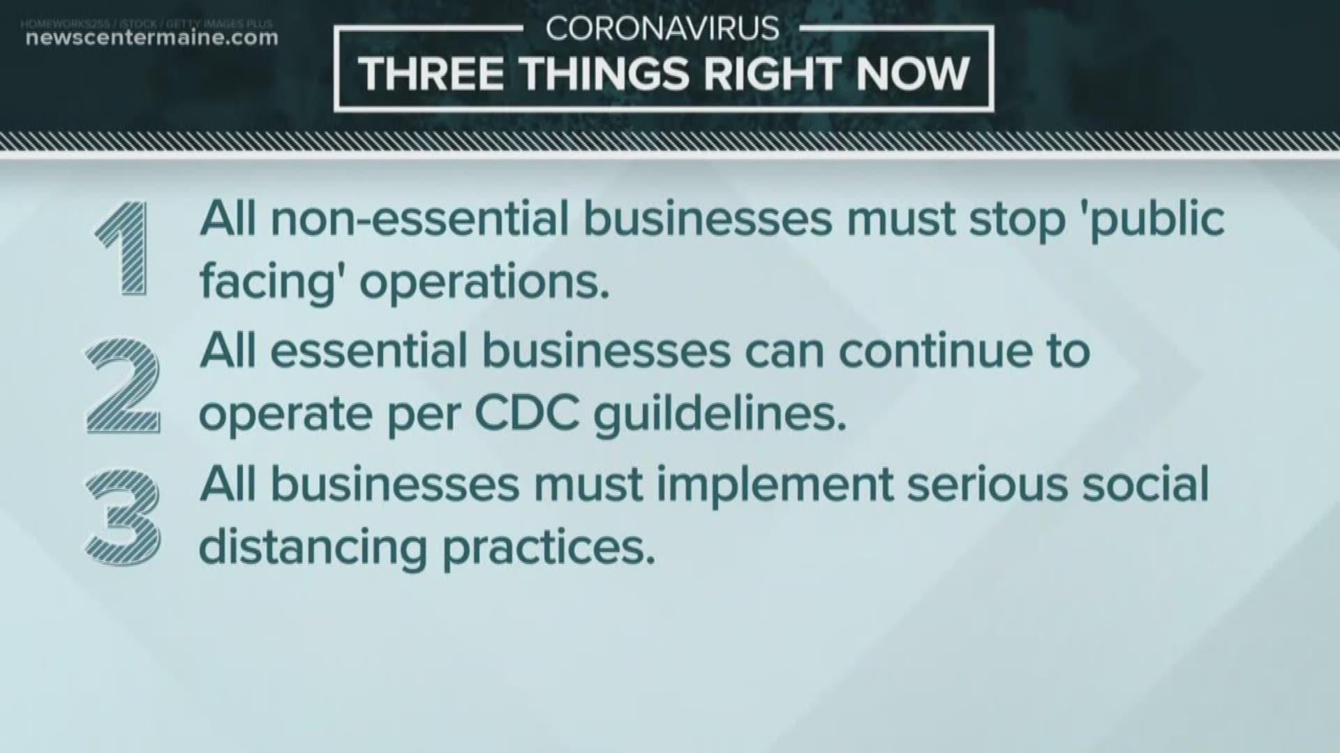 What are essential businesses vs. non-essential businesses? |  newscentermaine.com