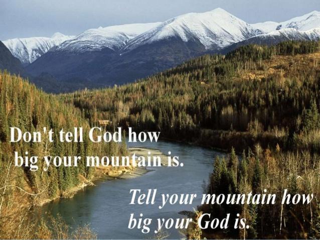 Faith That Can Move Mountains!
