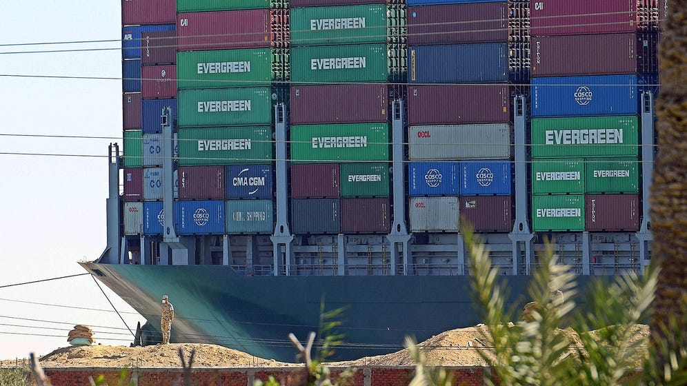 UPDATE: The Suez fiasco shows why ever bigger container ships ar -  WRCBtv.com | Chattanooga News, Weather & Sports