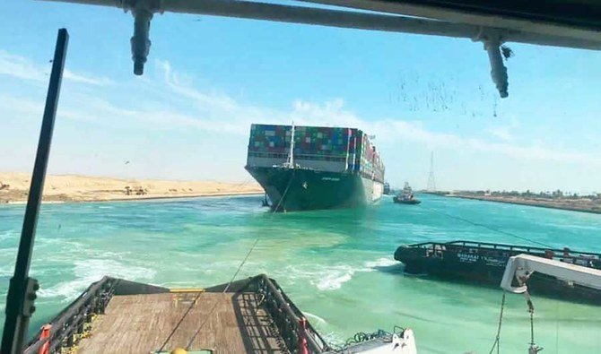 Suez Canal reopens after Ever Given is finally freed | Arab News