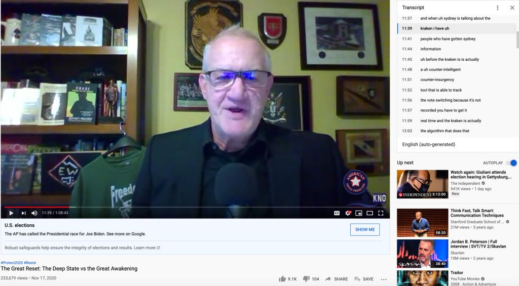 Jeffrey Prather Kraken YouTube2