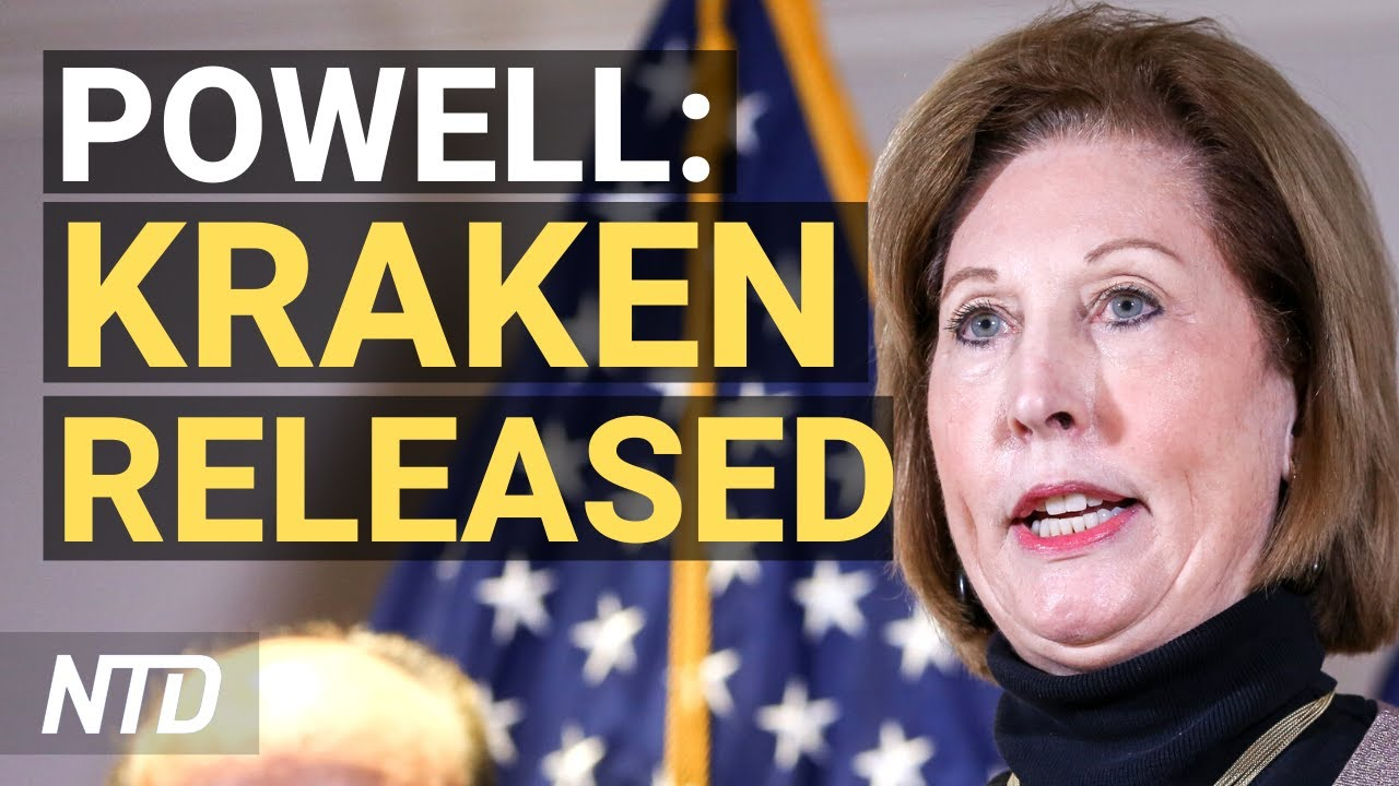 Sidney Powell Files 'Massive Election Fraud' Lawsuits in Georgia, Michigan;  SCOTUS Blocks NY Order - YouTube