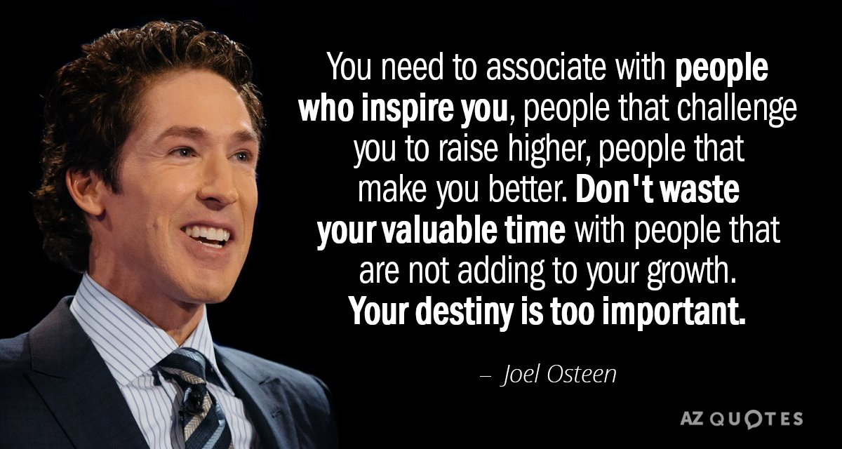 TOP 25 QUOTES BY JOEL OSTEEN (of 768) | A-Z Quotes