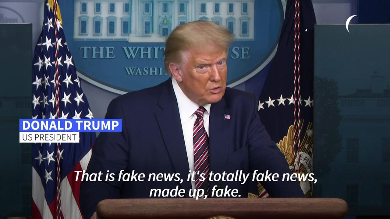 Washington Post slammed for fabricating quotes to frame former President  Donald Trump | Arab News