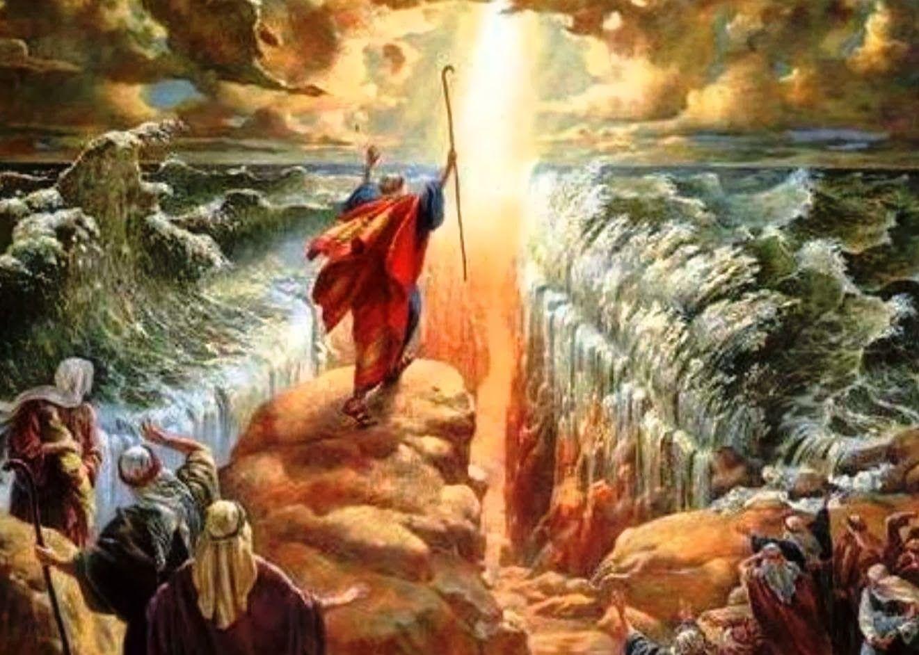 Speramus-(We Hope!): Preternatural vs Supernatural Points for Discernment  Regarding Medjugorje | Parting the red sea, Moses red sea, Red sea