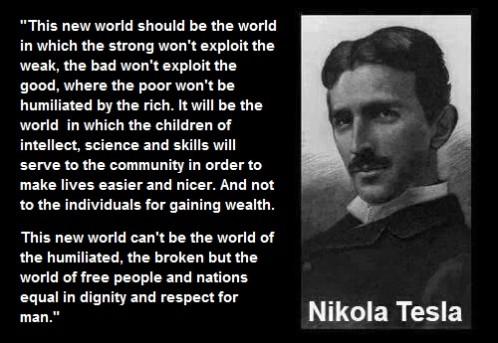 Quotes - The Nikola Tesla association | Genius for the future