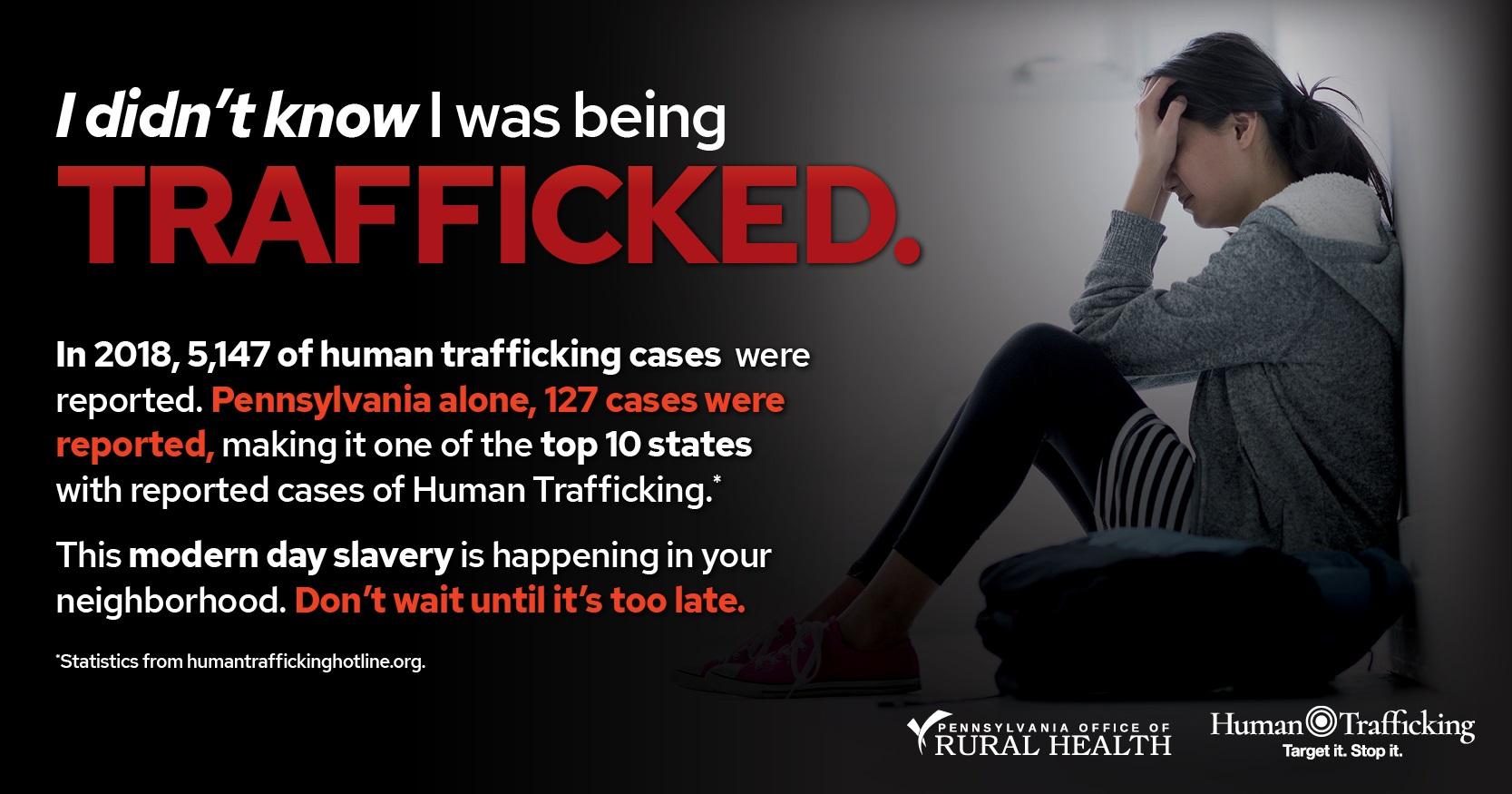 2019 Rural Human Trafficking Summit | Pennsylvania Office of Rural Health