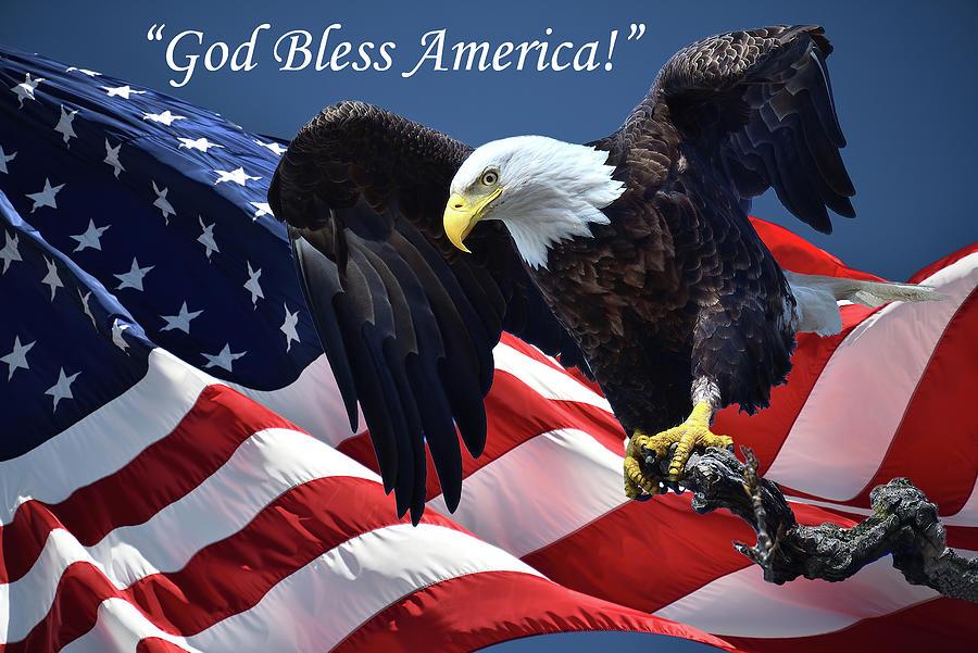 God Bless America Photograph by M James McAdams