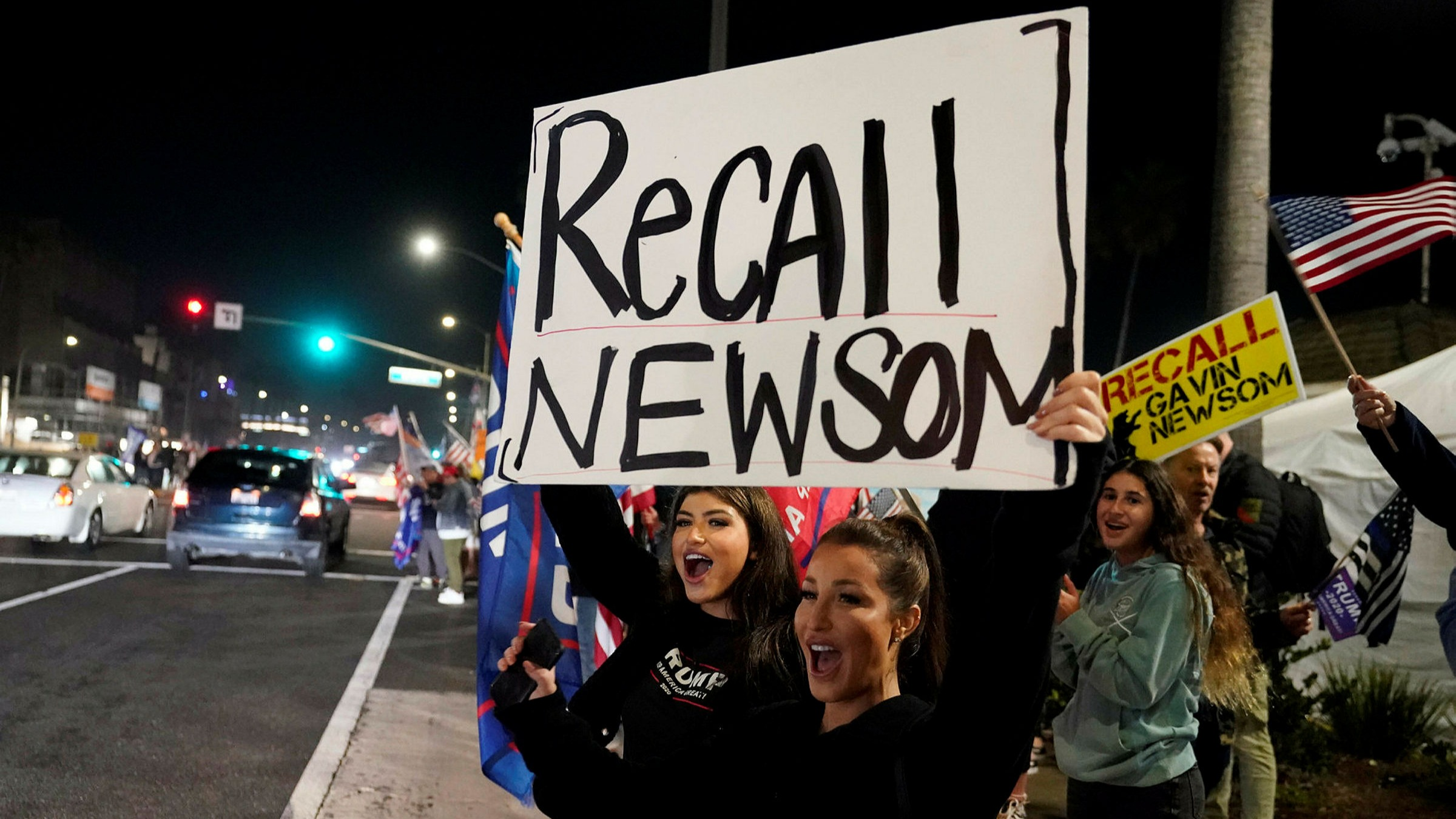 California governor to face recall election   Financial Times